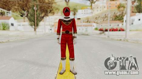 Power Ranger Zeo - Red for GTA San Andreas second screenshot