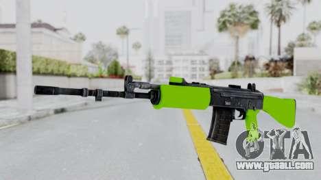 IOFB INSAS Light Green for GTA San Andreas