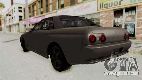 Nissan Skyline R32 4 Door for GTA San Andreas back left view