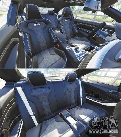 GTA 5 BMW M4 GTS right side view