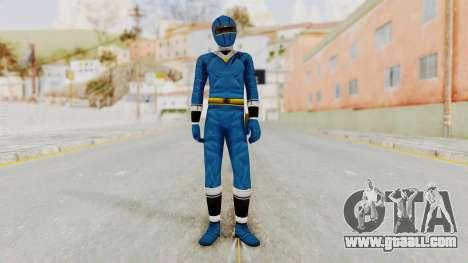 Alien Rangers - Blue for GTA San Andreas second screenshot