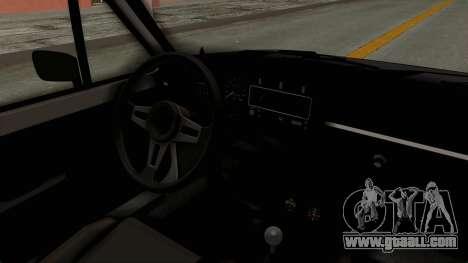 Volkswagen Golf 1 for GTA San Andreas inner view
