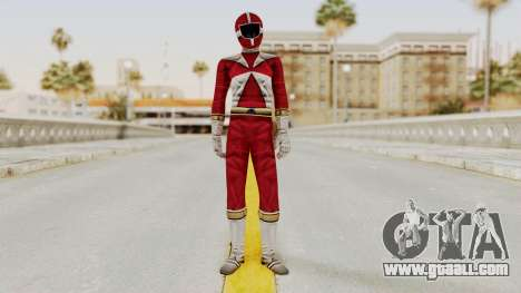 Power Rangers Lightspeed Rescue - Red for GTA San Andreas second screenshot