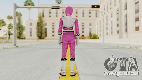 Power Rangers Lost Galaxy - Pink for GTA San Andreas third screenshot
