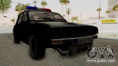 Dacia 1310 TX Turbo Police for GTA San Andreas right view