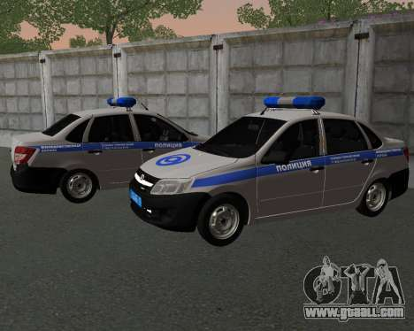 Lada Granta Private security for GTA San Andreas