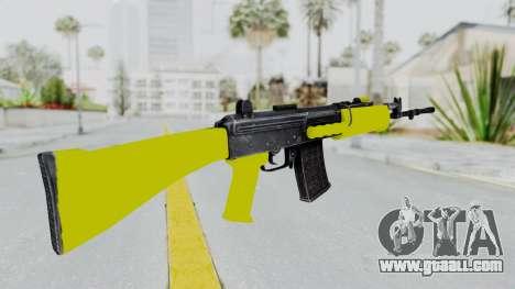 IOFB INSAS Yellow for GTA San Andreas second screenshot