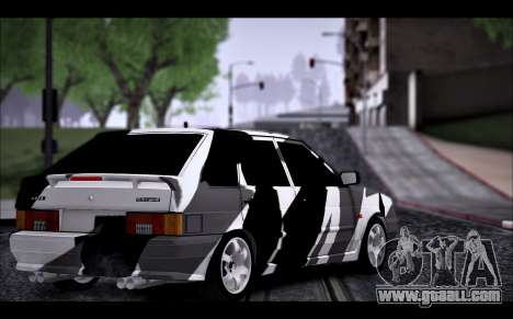 VAZ 2114 Triangle for GTA San Andreas back view