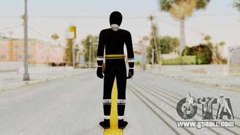 Alien Rangers - Black for GTA San Andreas third screenshot
