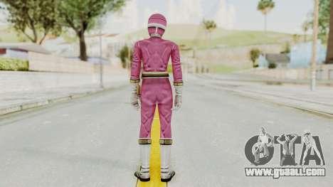 Power Rangers Lightspeed Rescue - Pink for GTA San Andreas third screenshot