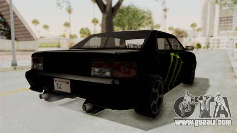Monster Sultan for GTA San Andreas back left view