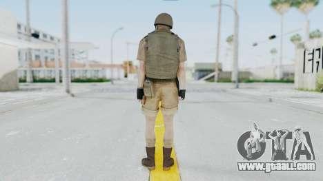 MGSV Phantom Pain CFA Vest v2 for GTA San Andreas third screenshot