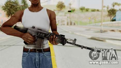 IOFB INSAS Detailed Black Skin for GTA San Andreas third screenshot