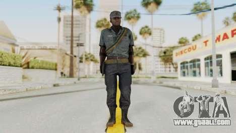 MGSV Phantom Pain Zero Risk Security LMG v1 for GTA San Andreas second screenshot