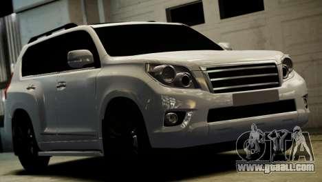 Toyota Land Crusier Prado 150 for GTA 4