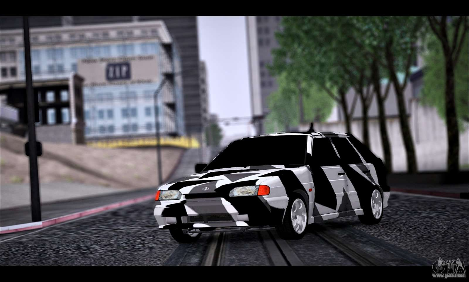 VAZ 2114 Triangle for GTA San Andreas