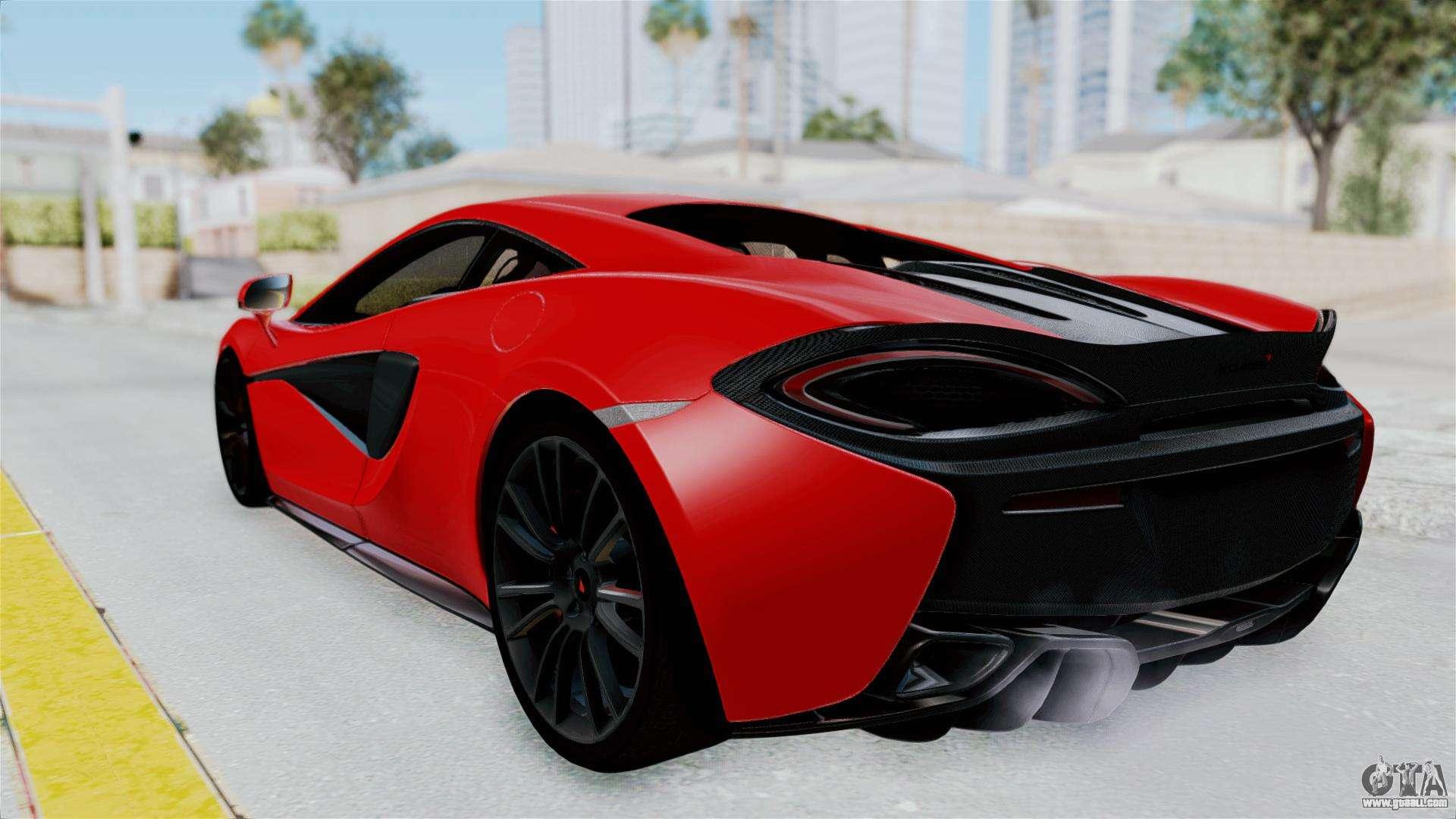 McLaren 570S 2016 For GTA San Andreas