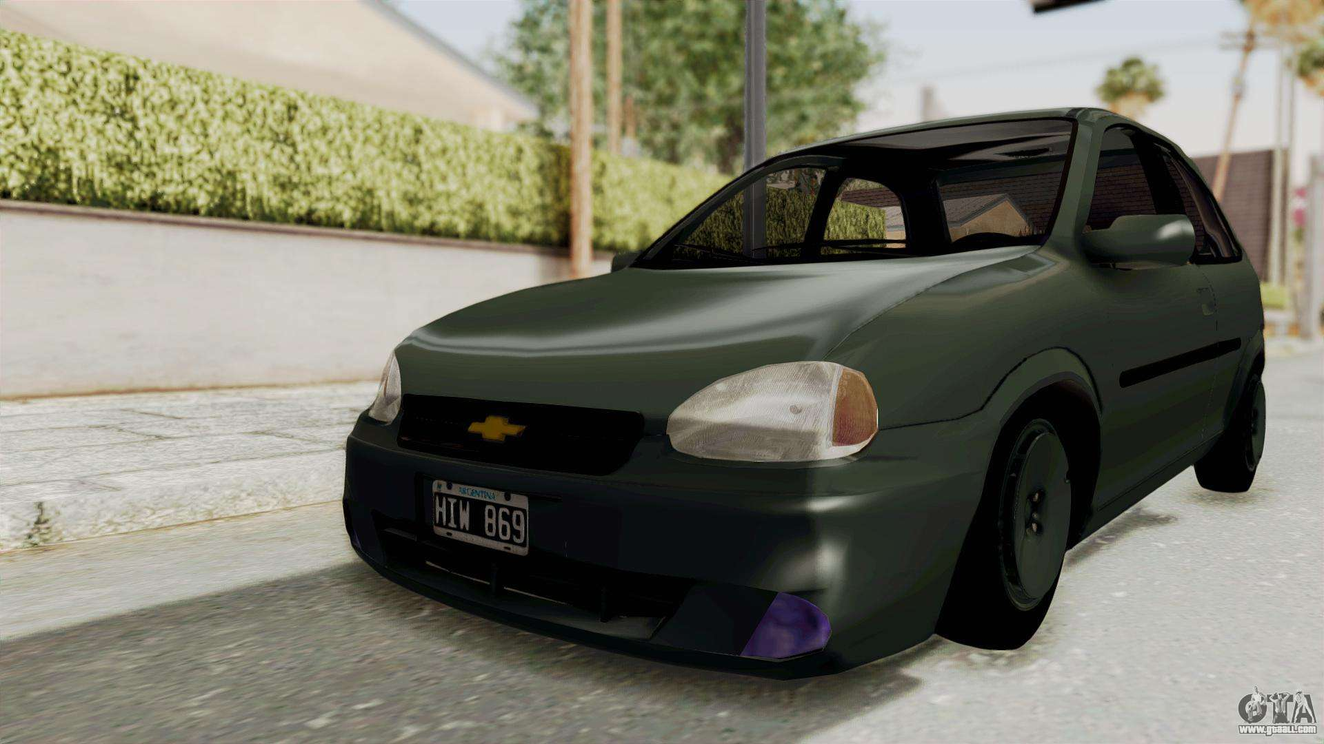 2016 Chevy Cars >> Chevrolet Corsa hatchback 3 doors for GTA San Andreas
