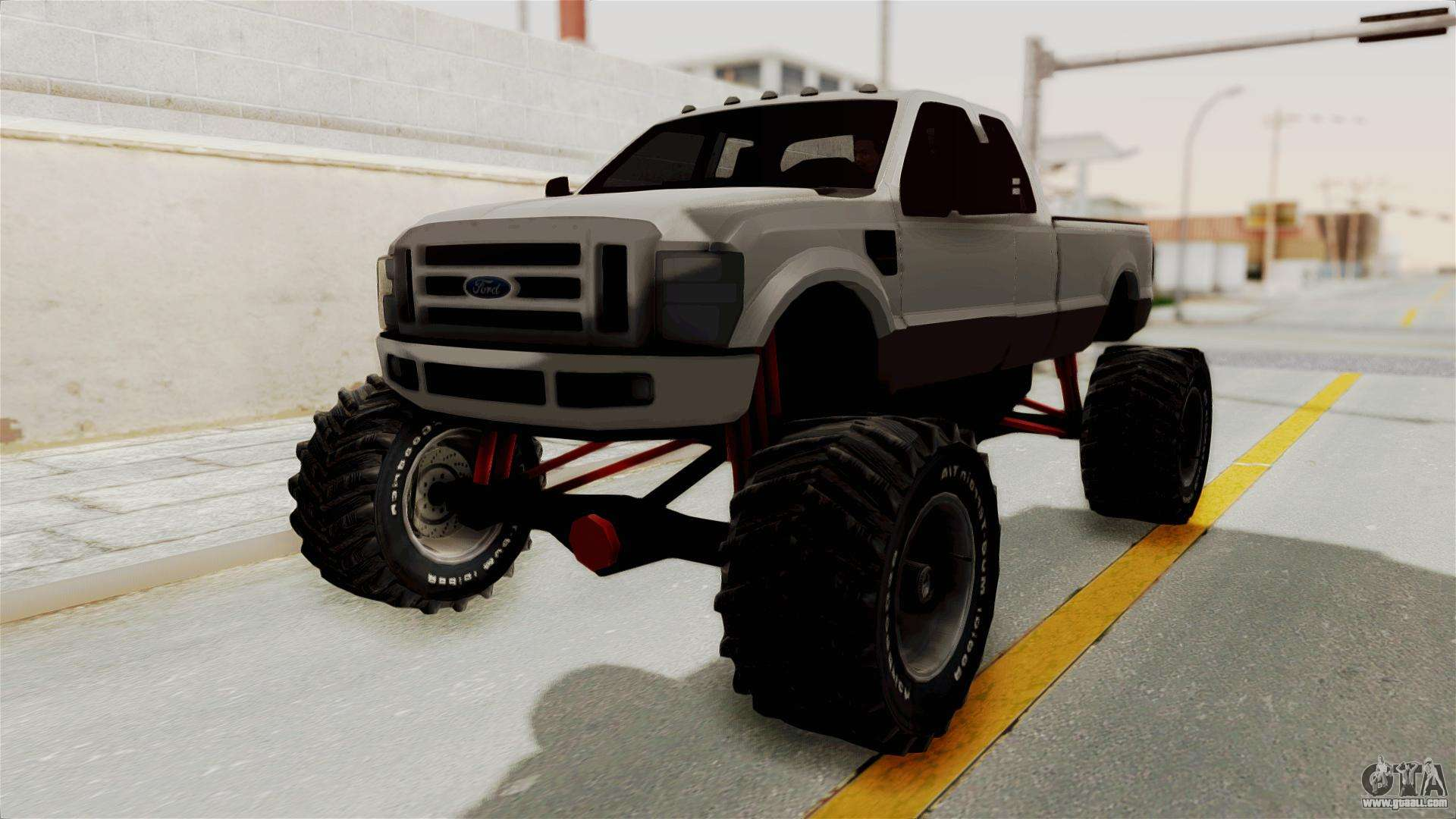 ford f 350 super duty monster truck for gta san andreas