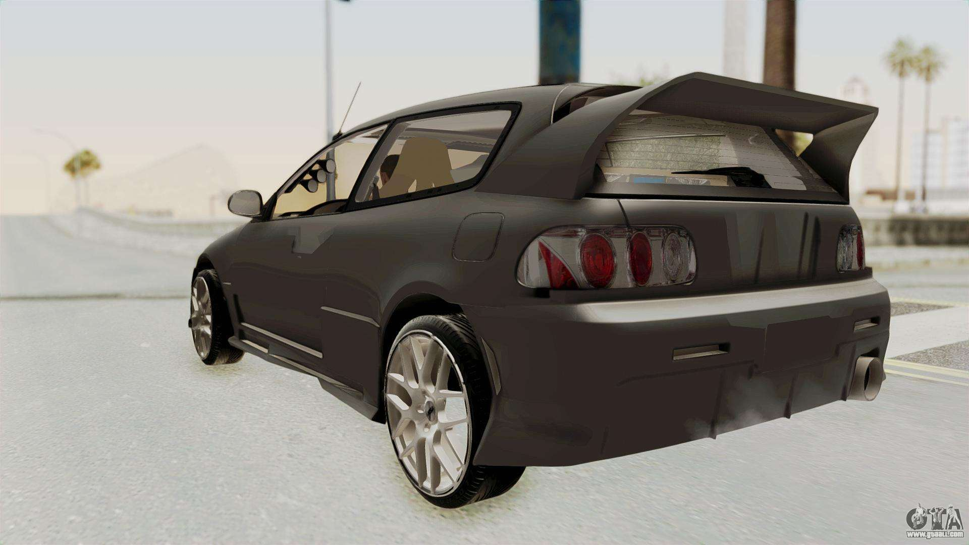honda civic hatchback 1994 tuning for gta san andreas. Black Bedroom Furniture Sets. Home Design Ideas