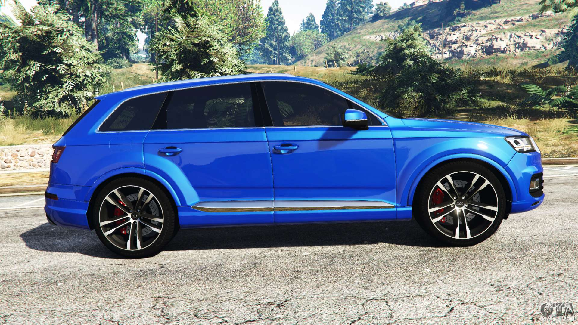 audi q7 2015 rims2 for gta 5. Black Bedroom Furniture Sets. Home Design Ideas