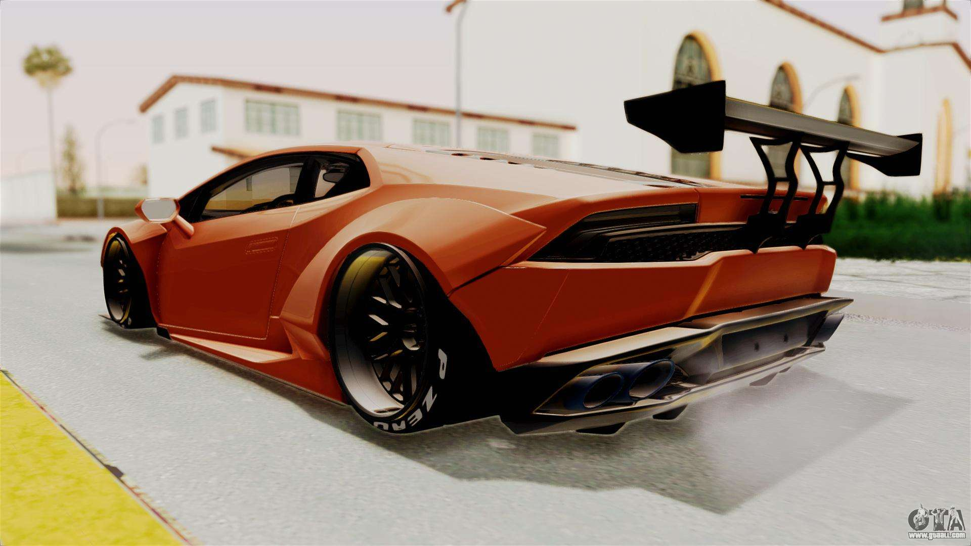 lamborghini huracan libertywalk kato design for gta san andreas. Black Bedroom Furniture Sets. Home Design Ideas