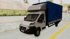 Fiat Ducato Work Van v2 for GTA San Andreas