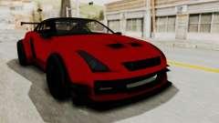 GTA 5 Annis Elegy Twinturbo No Spec for GTA San Andreas