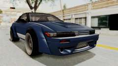 Nissan Silvia Sil80 for GTA San Andreas