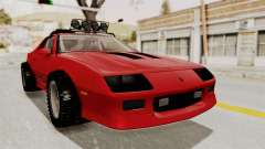 Chevrolet Camaro 1990 IROC-Z Rusty Rebel for GTA San Andreas