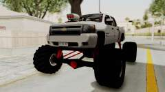 Chevrolet Silverado 2011 Monster Truck for GTA San Andreas