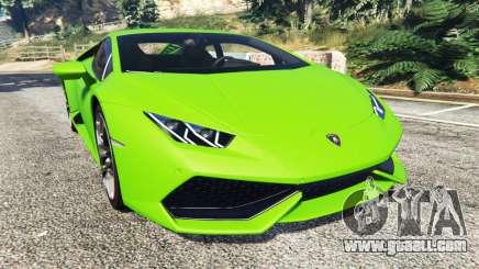 Lamborghini Huracan LP 610-4 2016 for GTA 5