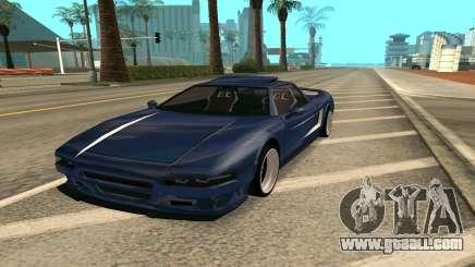 Infernus BlueRay V12 for GTA San Andreas