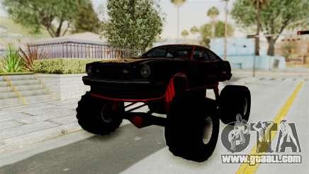 Ford Mustang King Cobra 1978 Monster Truck for GTA San Andreas