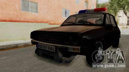 Dacia 1310 TX Turbo Police for GTA San Andreas