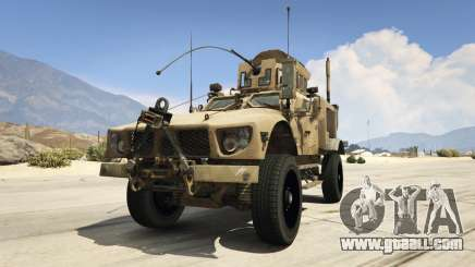 Oshkosh M-ATV 0.01 for GTA 5