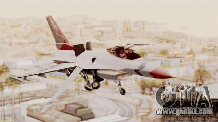 General Dynamics F-16A USAF Thunderbirds for GTA San Andreas