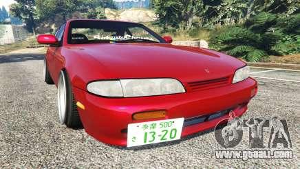Nissan Silvia S14 Zenki Stance for GTA 5