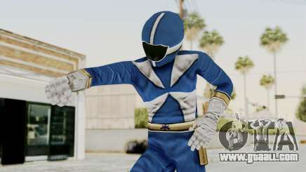 Power Rangers Lightspeed Rescue - Blue for GTA San Andreas