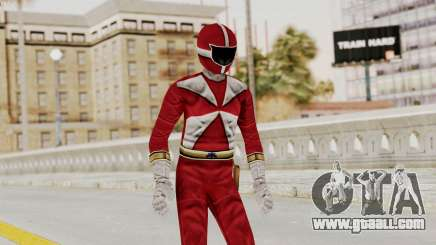 Power Rangers Lightspeed Rescue - Red for GTA San Andreas