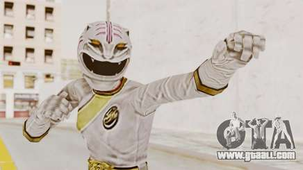Power Rangers Wild Force - White for GTA San Andreas