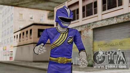 Power Rangers Wild Force - Blue for GTA San Andreas