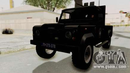 Land Rover Defender SAJ for GTA San Andreas