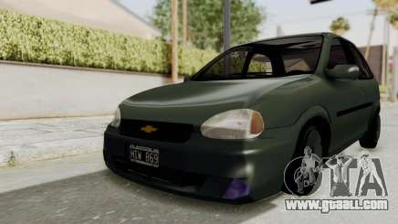 Chevrolet Corsa hatchback 3 doors for GTA San Andreas