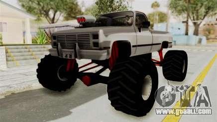 Chevrolet Silverado Classic 1985 Monster Truck for GTA San Andreas