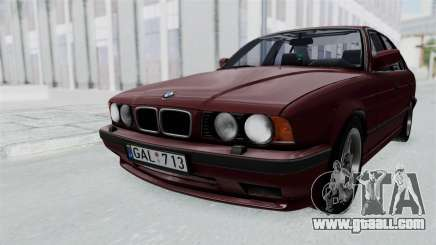 BMW 525i E34 1994 LT Plate for GTA San Andreas