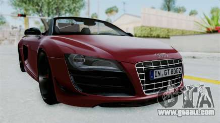 Audi R8 Spyder 2014 LB Work for GTA San Andreas