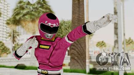 Power Rangers Turbo - Pink for GTA San Andreas