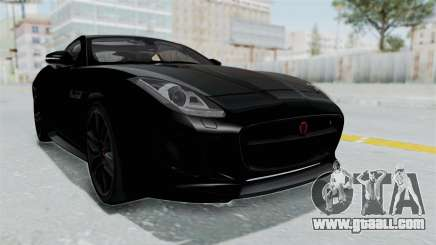Jaguar F-Type Coupe 2015 for GTA San Andreas