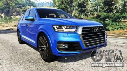 Audi Q7 2015 [rims2] for GTA 5